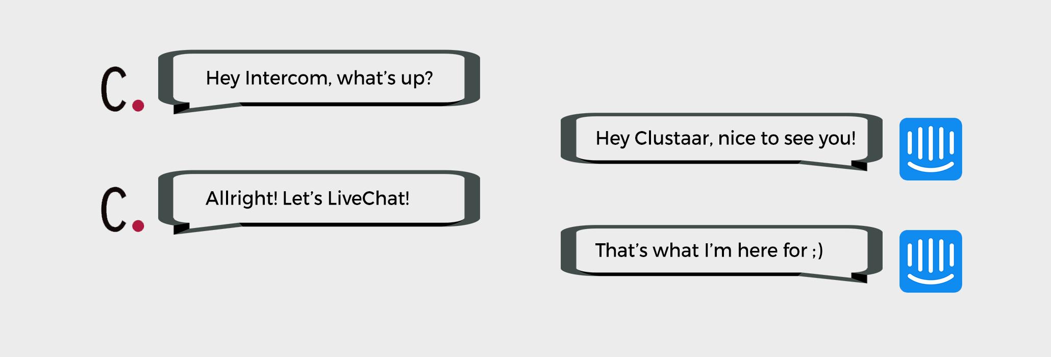 Livechat + Chatbot : Les chatbots de Clustaar s'intègrent à Intercom