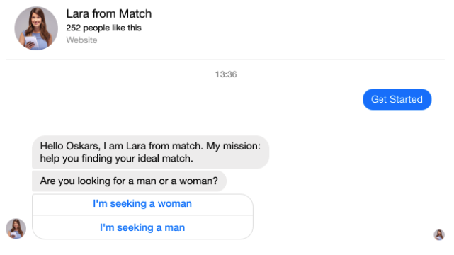 chatbot for online dating