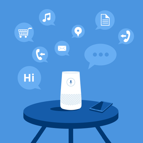 Clustaar Voice bot, google home