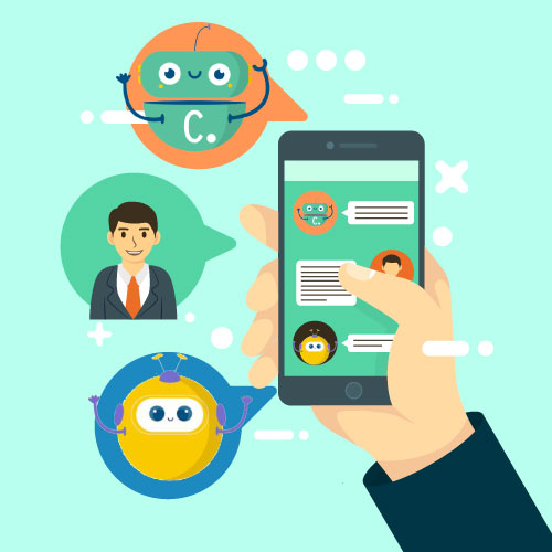 Mobile chatbot clustaar