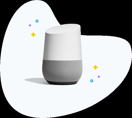 Google Home Voice bot Clustaar Platform