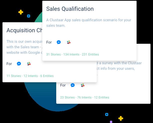 Chatbot Templates Clustaar bot platform