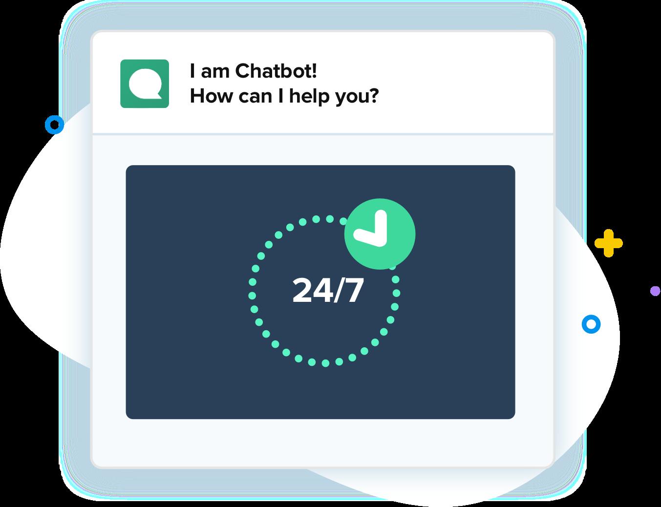 Chatbot 24-7 AI bot
