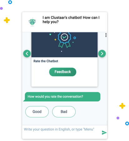 Measure user satisfaction chatbot feature