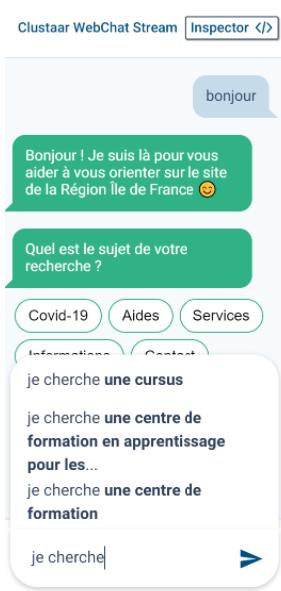 plateforme chatbot clustaar