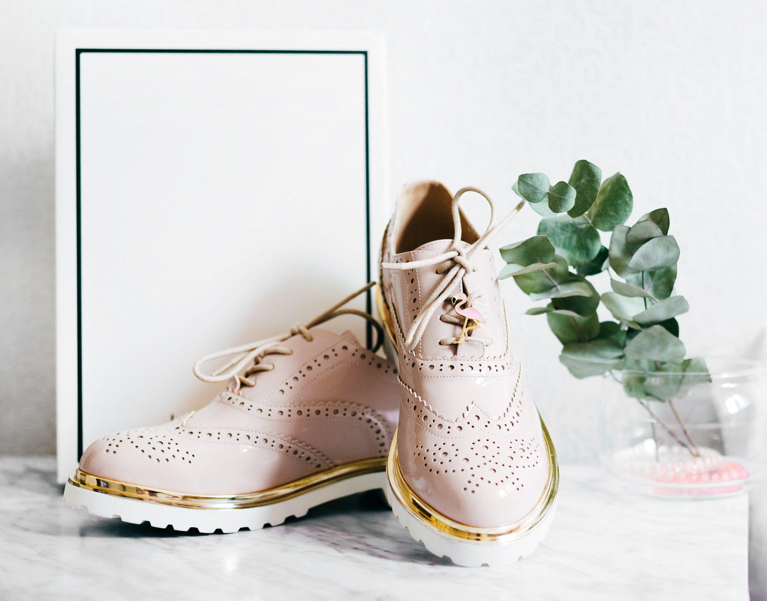 chaussure rose